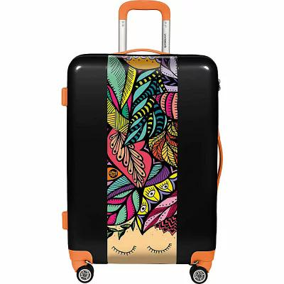 ユーゴバッグス Ugobags スーツケース・キャリーバッグ Nature By Amy Ay! Art 31' Hardside Spinner Black Print