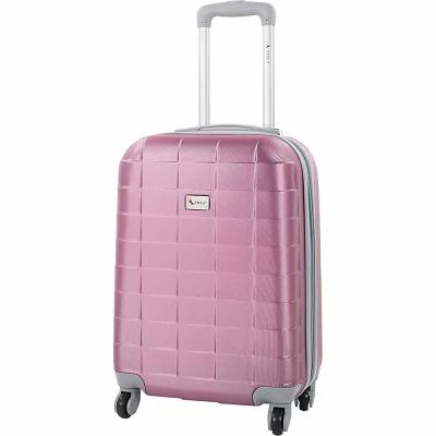 AMKA スーツケース・キャリーバッグ Palette 20' Expandable Hardside Carry-On Spinner Mauve