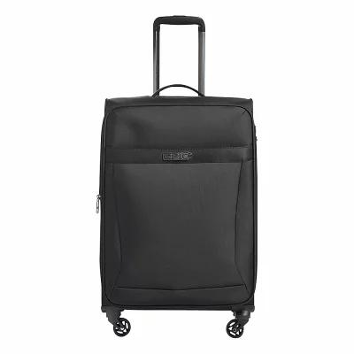 エピック EPIC スーツケース・キャリーバッグ Quantum 26' Lightweight Checked Spinner Luggage Black