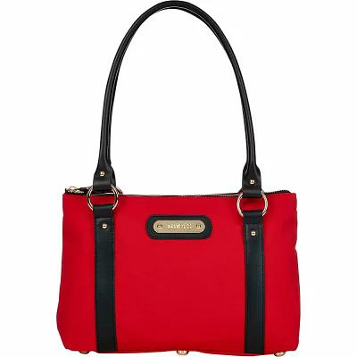 ダービーズ Davey's トートバッグ Small Tote Red/Black Leather