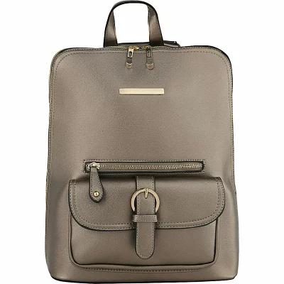 MKFコレクション MKF Collection by Mia K. Farrow バックパック・リュック Sylvia Designer Backpack with Cosmetic Pouch Pewter