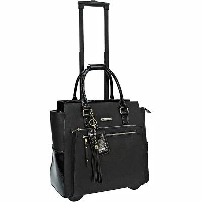 カブレリ Cabrelli スーツケース・キャリーバッグ Black 15' Fashion Executive Rolling Carry-On Brief Black