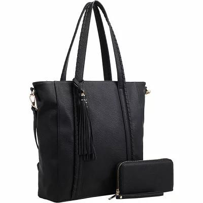 MKFコレクション MKF Collection by Mia K. Farrow トートバッグ Yexi Tote with Wallet Black