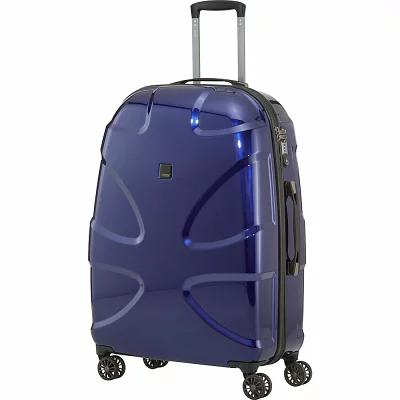 タイタン Titan Bags スーツケース・キャリーバッグ X2 30' Hardside Checked Spinner Luggage Midnight Blue