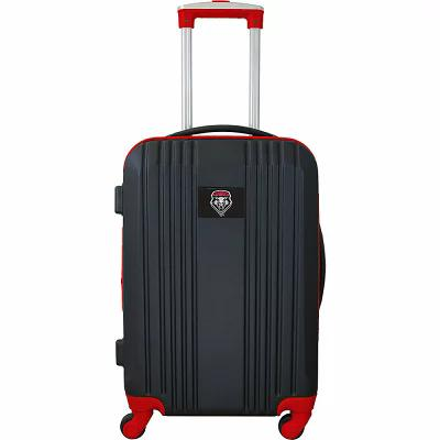 モジョ Mojo Licensing スーツケース・キャリーバッグ NCAA 21' Hardside Two-Tone Carry-On Spinner Luggage New Mexico