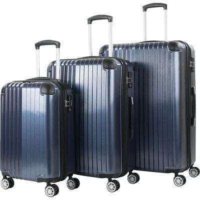 アメリカングリーントラベル American Green Travel スーツケース・キャリーバッグ Melrose 3 Piece Expandable Hardside Spinner Luggage Set Blue