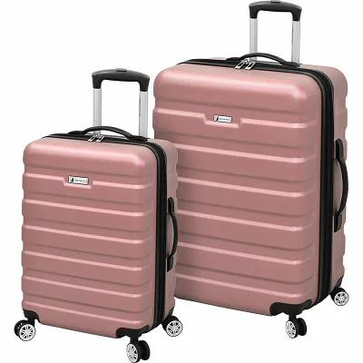 ロンドンフォグ London Fog スーツケース・キャリーバッグ 2 Piece Expandable Hardside Spinner Luggage Set Rose Gold SR