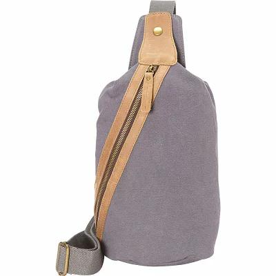 ヴァガボンド Vagabond Traveler ボディバッグ・ウエストポーチ Fashion Style Canvas Chest Pack Blue Grey