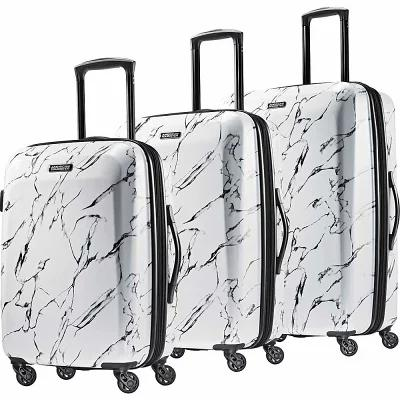 アメリカンツーリスター American Tourister スーツケース・キャリーバッグ Moonlight 3pc Hardside Expandable Spinner Luggage Set Marble