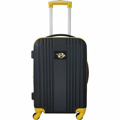 モジョ Mojo Licensing スーツケース・キャリーバッグ NHL 21' Hardside Two-Tone Carry-On Spinner Luggage Nashville Predators
