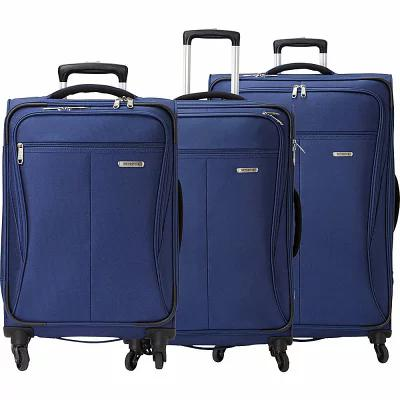 サムソナイト Samsonite スーツケース・キャリーバッグ Lamont 3 Piece Expandable Spinner Luggage Set Twilight Blue