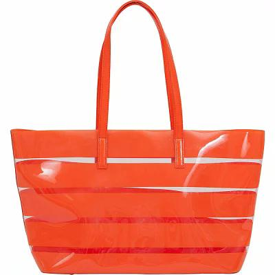 ブコ BUCO トートバッグ Striped Beach Tote MANDARIN