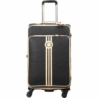 ゲス GUESS Travel スーツケース・キャリーバッグ Nona 24' Checked Spinner Luggage Black