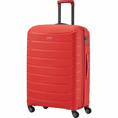 01139b3a6c5b タイタン Bags スーツケース・キャリーバッグ Limit Unbreakable 27' Expandable Hardside Checked  Spinner Luggage Red Titan-スーツケース・キャリーバッグ