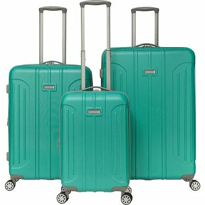 ガッビアーノ Gabbiano スーツケース・キャリーバッグ Viva 3 Piece Expandable Hardside Spinner Luggage Set Teal