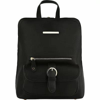 MKFコレクション MKF Collection by Mia K. Farrow バックパック・リュック Sylvia Designer Backpack with Cosmetic Pouch Black