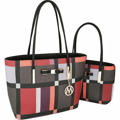 MKFコレクション MKF Collection by Mia K. Farrow トートバッグ Zuri 2 in 1 Tote Set Coffee