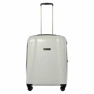 エピック EPIC スーツケース・キャリーバッグ GTO 4.0 26' Expandable Hardside Checked Spinner Luggage Sterling White
