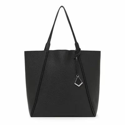 ボトキエ BOTKIER トートバッグ Trinity Calfskin Leather Tote Black