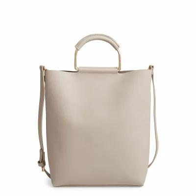 チェルシー28 CHELSEA28 トートバッグ Payton Convertible Faux Leather Tote Grey Flint