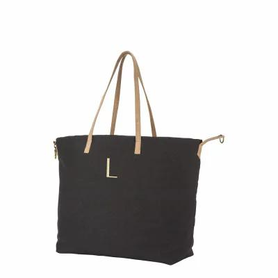 キャシーズ コンセプツ CATHY'S CONCEPTS トートバッグ Monogram Overnight Tote Black L