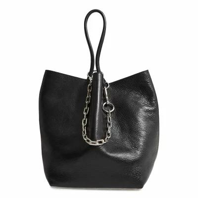 アレキサンダー ワン ALEXANDER WANG トートバッグ Large Roxy Leather Tote Bag Black
