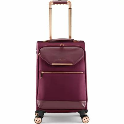 テッドベーカー TED BAKER LONDON スーツケース・キャリーバッグ 22-Inch Spinner Trolley Packing Case Burgundy