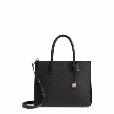 マイケル コース MICHAEL MICHAEL KORS トートバッグ Large Mercer Convertible Tote Black