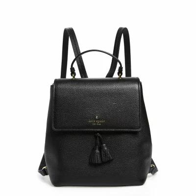 ケイト スペード KATE SPADE NEW YORK バックパック・リュック hayes street - teba leather backpack Black