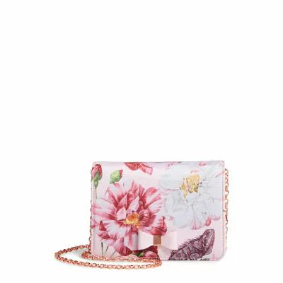 テッドベーカー TED BAKER LONDON クラッチバッグ Zita Mini Bow Grosgrain Evening Bag Light Pink