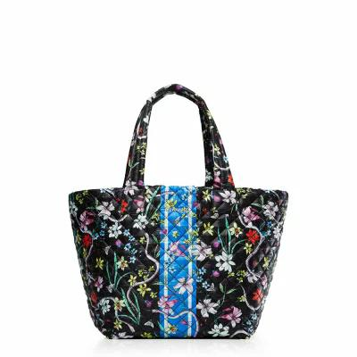エムジー ウォレス MZ WALLACE トートバッグ 'Medium Metro' Quilted Tote Eden Floral With Stripe