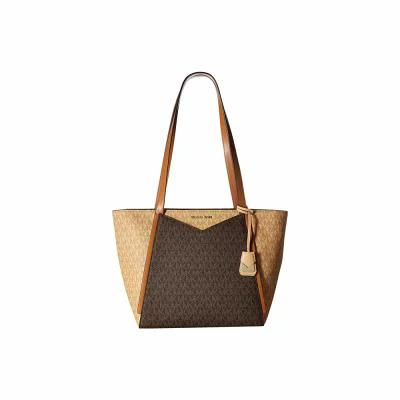マイケル コース MICHAEL Michael Kors トートバッグ Whitney Small Top Zip Tote Butternut/Brown/Acorn