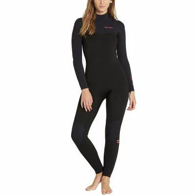 ビラボン Billabong ウェットスーツ 4/3 Furnace Carbon Comp Chest - Zip Full Wetsuit Black