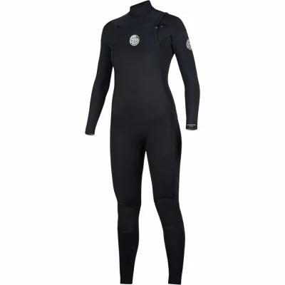 リップカール Rip Curl ウェットスーツ Dawn Patrol 4/3 Chest - Zip Full Wetsuit Black