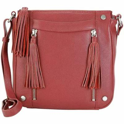 カレンコム Hadaki by Kalencom ショルダーバッグ Alexandra's Leather Cross Body Bag Deep Red