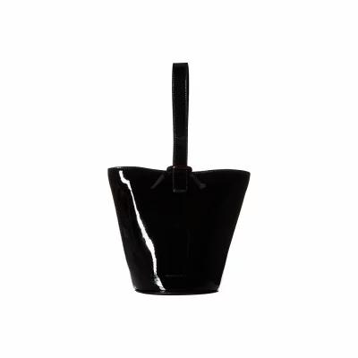 ロフラーランドール Loeffler Randall トートバッグ Dolly O-Ring Bucket Black
