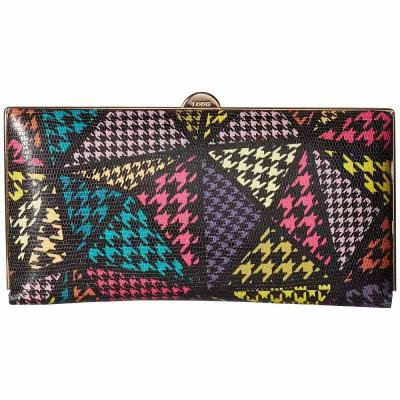 ロディス アクセサリー Lodis Accessories 財布 Houndstooth RFID Quinn Medium Frame Multi