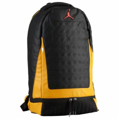 ナイキ ジョーダン Jordan バックパック・リュック Retro 13 Backpack Black/University Gold/University Red
