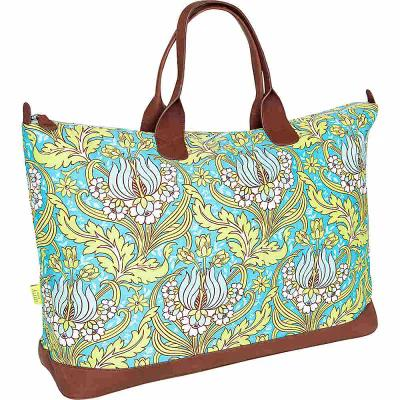 特別セーフ エミーバトラーフォーカレンノーム Amy Butler Kalencom for Kalencom ボストンバッグ・ダッフルバッグ Turquoise Merris Amy Duffel Bag Temple Tulips Turquoise, ハマナグン:684d2fa1 --- business.personalco5.dominiotemporario.com