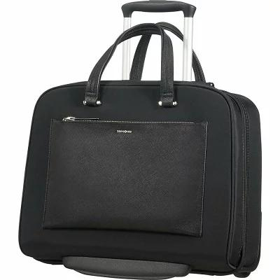 サムソナイト Samsonite パソコンバッグ Zalia 15.6' Laptop Rolling Business Brief Black