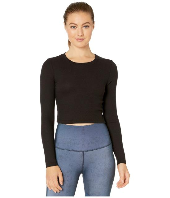 Beyond Yoga 本物 レディース 衣類 アパレル パンツ ビヨンドヨガ Pullover 賜物 Line Cropped Keep In