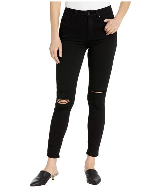 Paige レディース 衣類 アパレル 休日 パンツ ペイジ Margot Anchor Jeans in Black Ankle Destructed ランキングTOP5