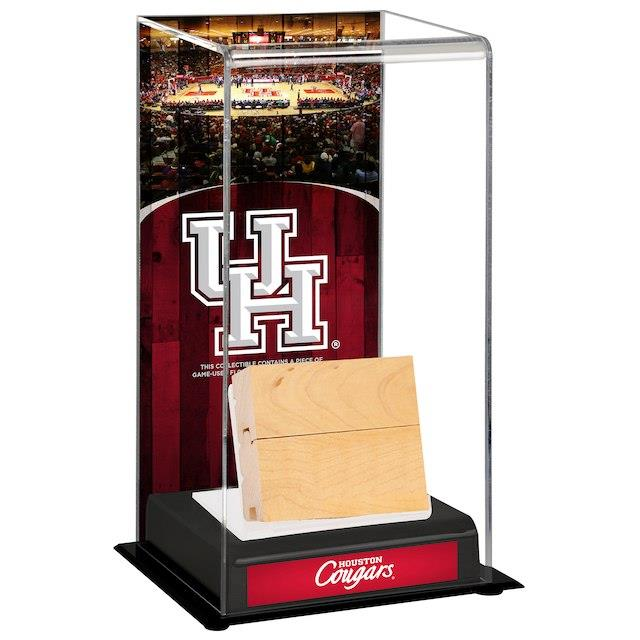 Fanatics Authentic Houston Cougars Hofheinz Pavilion Deluxe Tall Display Case with Game-Used Court ユニセックス