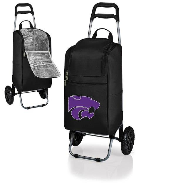 Kansas State Wildcats Black Cart Cooler ユニセックス
