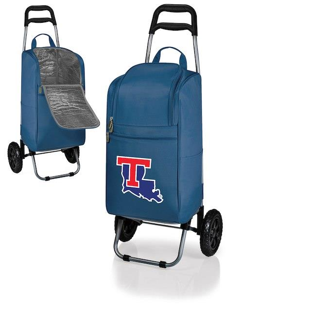 Louisiana Tech Bulldogs Navy Cart Cooler ユニセックス