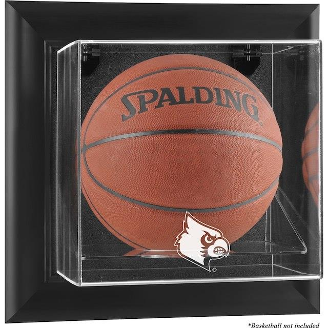 Fanatics Authentic Louisville Cardinals Black Framed Logo Wall-Mountable Basketball Display Case ユニセックス