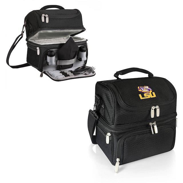 LSU Tigers Black Pranzo Lunch Tote ユニセックス
