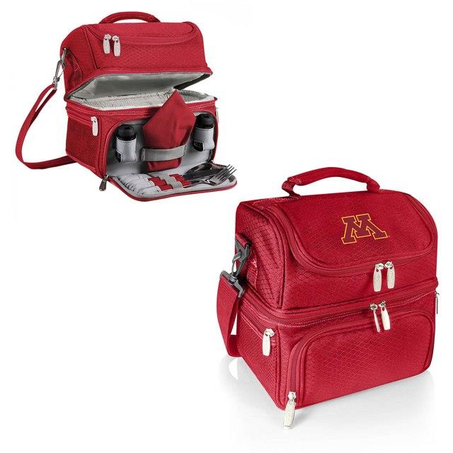 Minnesota Golden Gophers Red Pranzo Lunch Tote ユニセックス