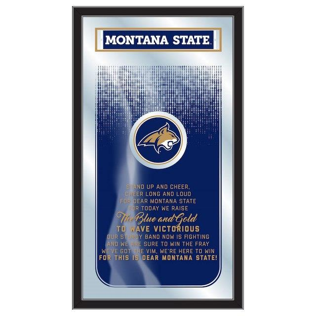 Montana State Bobcats 26 x 15 Fight Song Mirror ユニセックス