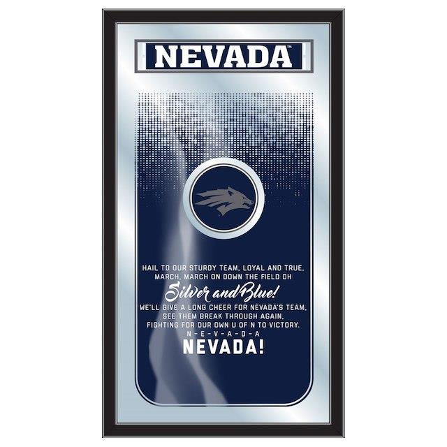 Nevada Wolf Pack 26 x 15 Fight Song Mirror ユニセックス